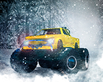 Artic Monster Truck