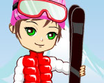 play SKIING DASH